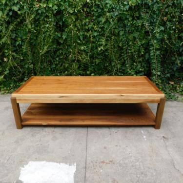 Vintage Refinished Lane Mid Century Style Coffee Table