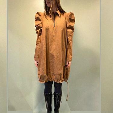 Bold Puff Sleeve Long Sleeve Bubble Dress