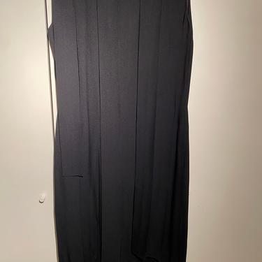 Reserved for Noriko / Black dress with straps / reference to order #2145250449 by EELT