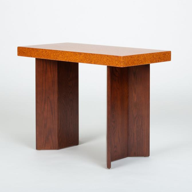Paul Frankl Cork Console Table for Johnson Furniture Co