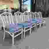 Friend Love | Set of Six Rattan Dining Chairs
