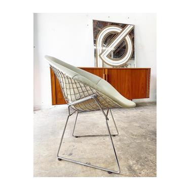 Knoll Bertoia Diamond Chair Mid Century Modern by FlipAtik