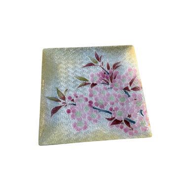 Ginbari Silver Foil Cherry Blossom Tray by FunkyRelic