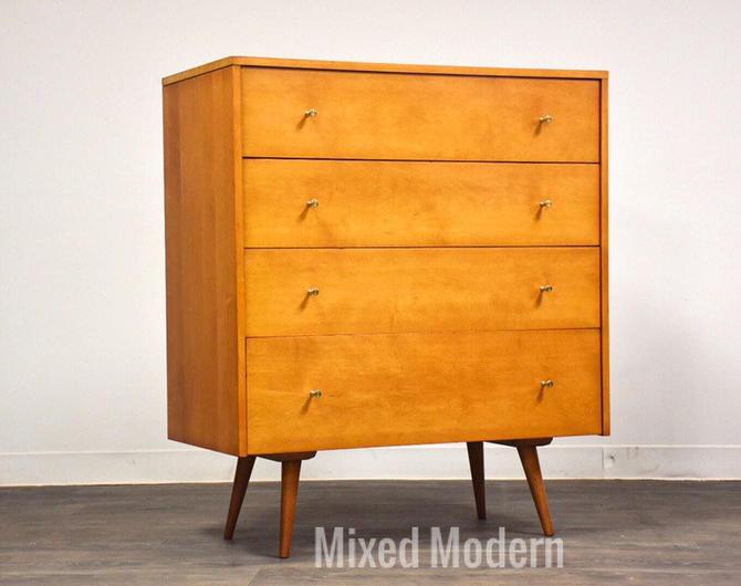 Paul McCobb Planner Group Maple Dresser by mixedmodern1