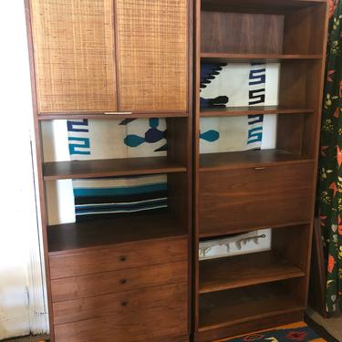 Mid Century Wall Unit Made in Denmark for Maurice Villency by bcdrygoods