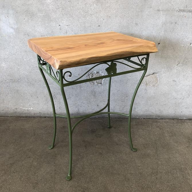 Customer Lide Edge Accent Table