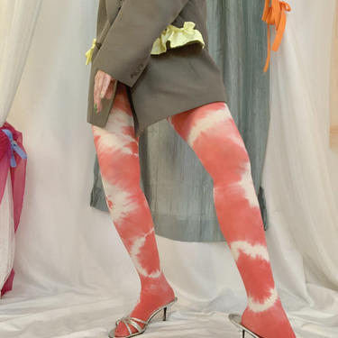 Strawberry Shortcake Tie Dye Tights by shopjournal