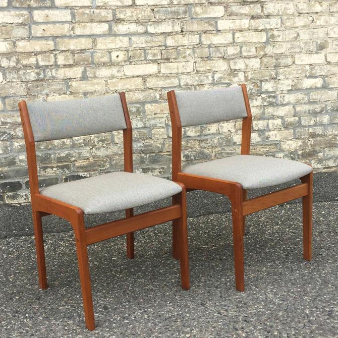 Danish Teak Dining Chairs Freshly Restored