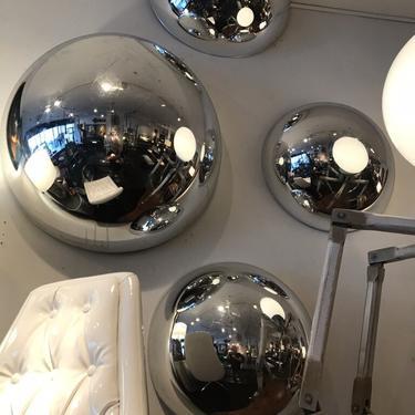 Plastic Reflective Dome Set