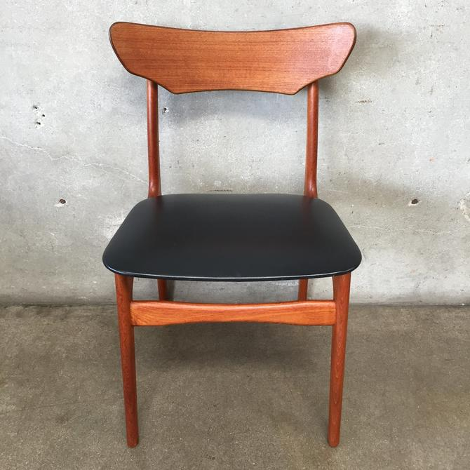 Vintage Mid Century Danish Chair Chionning & Elgaard