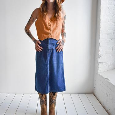 1970s Levis Denim Skirt by milkandice