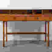 Peter Løvig Nielsen Flip-Top Teak Desk, Denmark