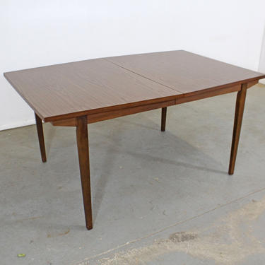 Mid-Century Modern H. Paul Browning Stanley Walnut Surfboard Dining Table by AnnexMarketplace