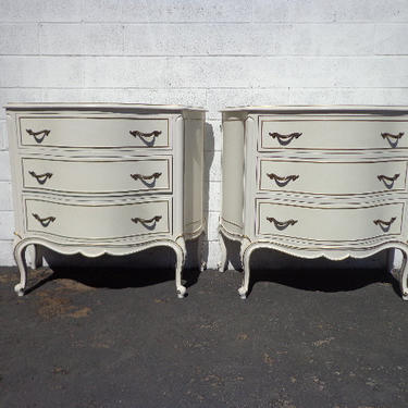Added On October 23 2018 Pair Of Nightstands Drexel Touraine Tables French Provincial