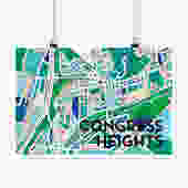 Congress Heights Print