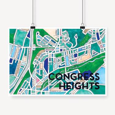 Congress Heights Print