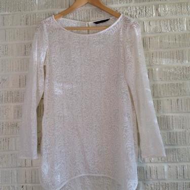 Zara Woman Size S White Top