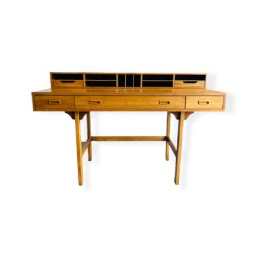 Mid-Century Danish Modern Teak Flip-Top Desk by Peter Løvig Nielsen