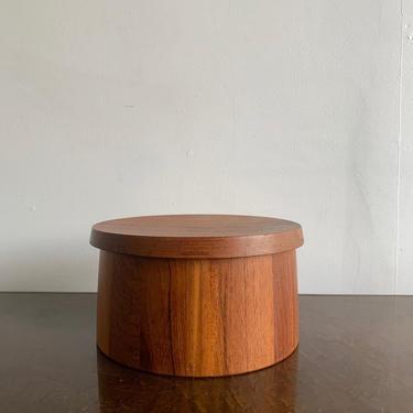 Danish Teak Jar by VintageOnPoint