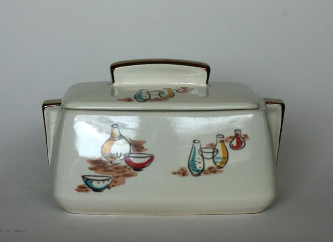 vintage Stanford Sebring covered dish by suesuegonzalas