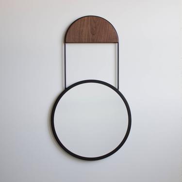Penny Round Wall Hanging Mirror by CrumpandKwash