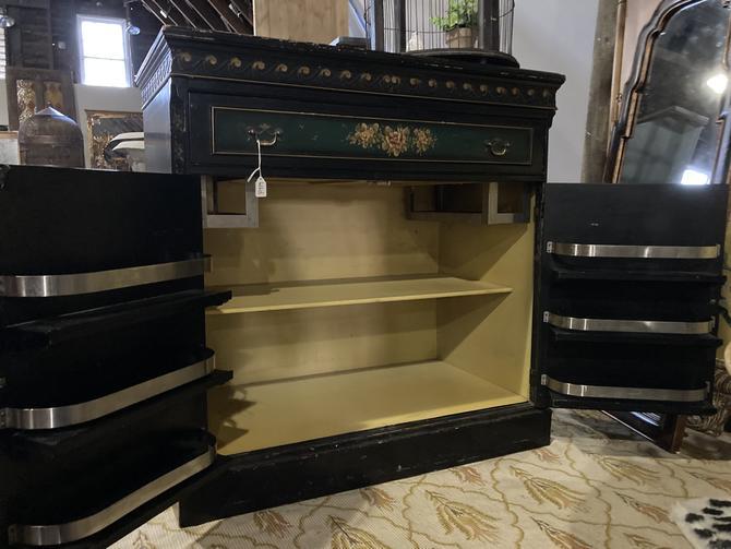 Asian Style Bar Cabinet