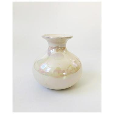 Vintage Iridescent Ceramic Vase by SergeantSailor