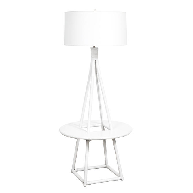Tommi Parzinger Floor Lamp for Willow and Reed 1950s