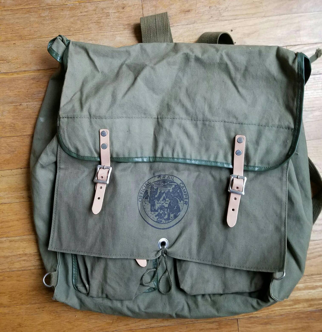 Official Trail Camper Made In Japan 1960s Backpack