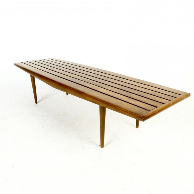 1960s Slat Coffee Table / bench