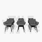 Husk Swivel Dining Chairs
