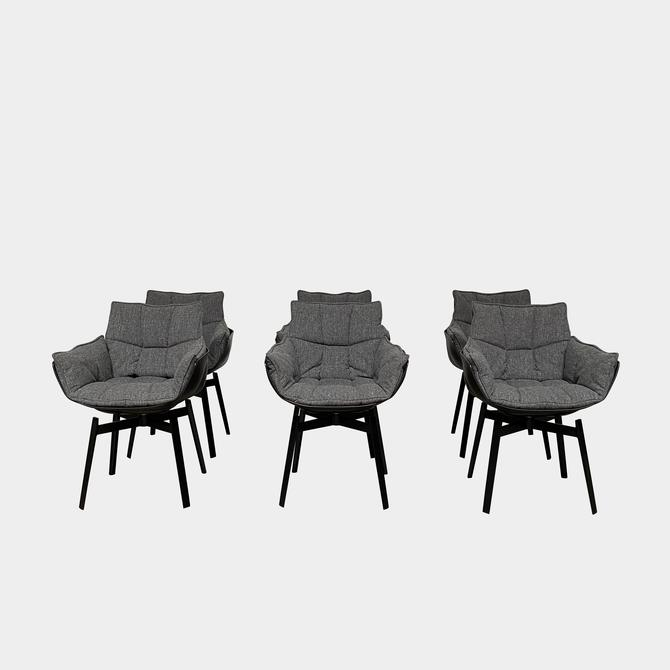 Husk Swivel Dining Chairs