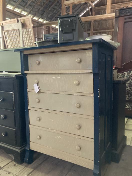 Five Drawer Wood Chest of Drawers