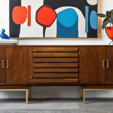 Mid Century Modern American of Martinsville Dania Buffet by formermodern