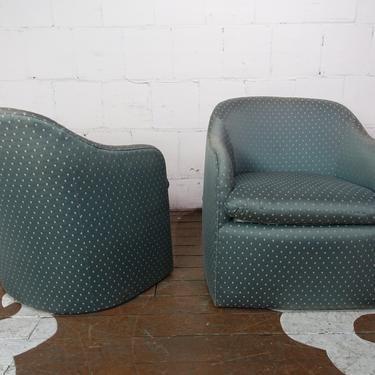 Vladamir Kagan for Preview Furniture Armchairs (Pair)