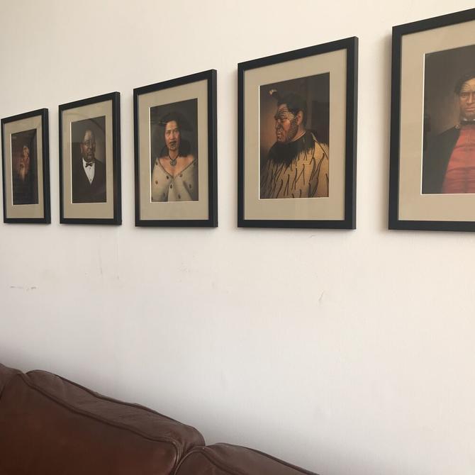 Māori Portraits Art Prints