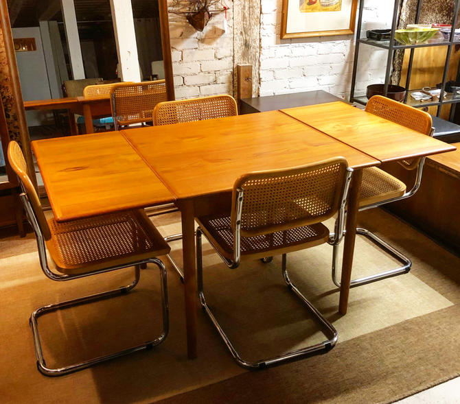 Danish Teak Dining Table & 4 Cesca Chairstable Price