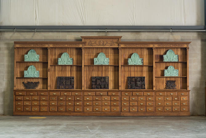 Large Apothecary Cabinet