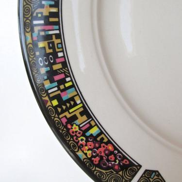 """On Hold For """"J""""...... Set of 5 Vintage Homer Laughlin Dinner Plates, 12"""" Seville Golden Frost Charger Plates by HerVintageCrush"""