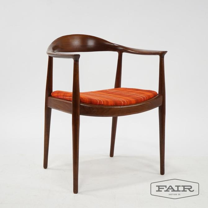 "Hans Wegner Attributed ""The Chair\"""