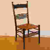 t092 cane bottom side chair