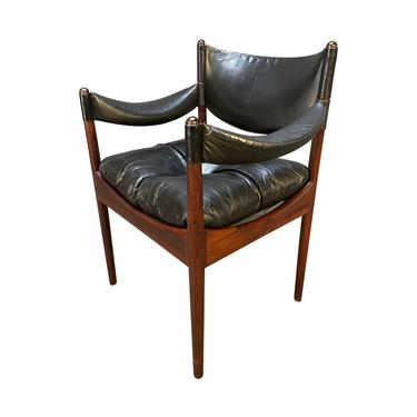 """Vintage Danish Mid Century Modern """"Modus"""" Rosewood Accent Chair by Kristian Vedel by AymerickModern"""