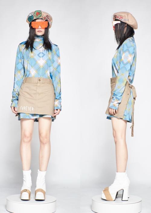 Fake skirt