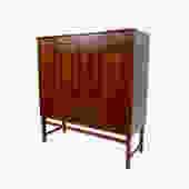 Dresser Gentleman's Chest Mahogany Danish Modern Skaraborgs Mobelindustri by HearthsideHome