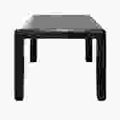 Karl Springer Petit Game Table in Embossed Lizard Leather 1987 (Signed)