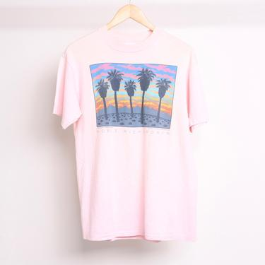 vintage YUCCA VALLEY 29 palms joshua tree NOBLE Richardson artist print t-shirt -- size large - made in the U.S.A. by CairoVintage