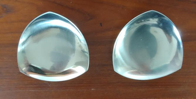 Vintage 18/8 Stainless Dishes Ashtrays Made in Denmark by ModandOzzie