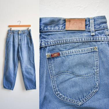 Vintage Lee Riders High Waisted Jeans 30x27 by milkandice