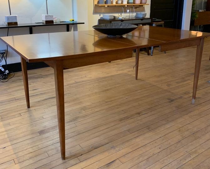 Mid-Century Dining Table w/ Self Storing Leaf