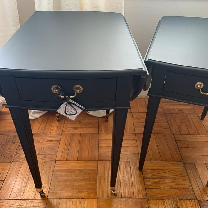 Pair of Vintage Pembroke Side Tables